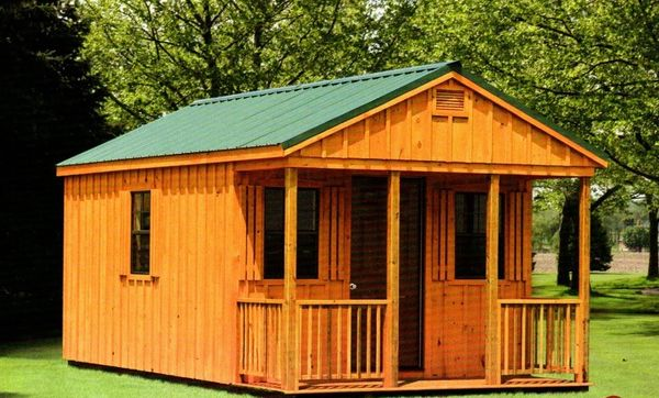 Tiger Structures - Cabins, Screen Porch, Hunting Cabin | Tiger