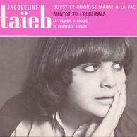 La fac de Lettres, single of the french mademoiselle Jacqueline Taieb, produced by Thierry WOLF FGL