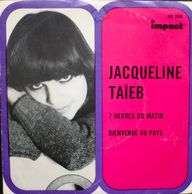Jacqueline Taïeb's hit single 7 heure du Matin, produced by Thierry WOLF for FGL PRODUCTIONS