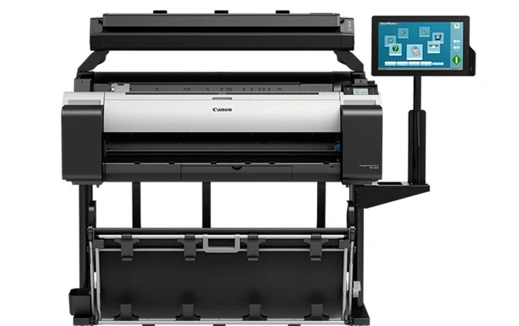 Canon imagePROGRAF printers.  Wide format printer.  Construction document printer.