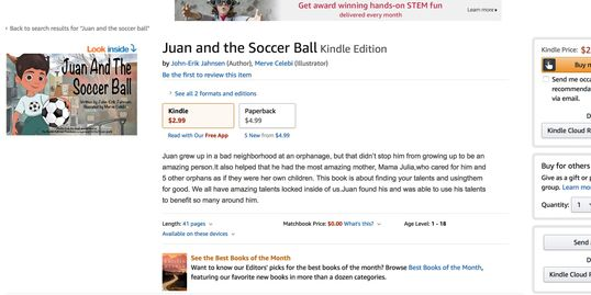 Juan and the Soccer Ball