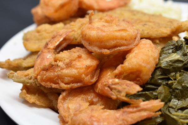 Seafood Shrimp and Whiting combo