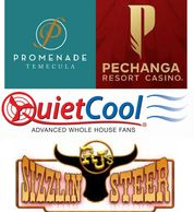 Project Touch Community Partners Promenade Temecula, Pechanga, QuietCool, RJs Sizzlng Steer and more
