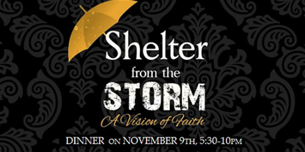 Project Touch Annual Shelter from the Storm Dinner