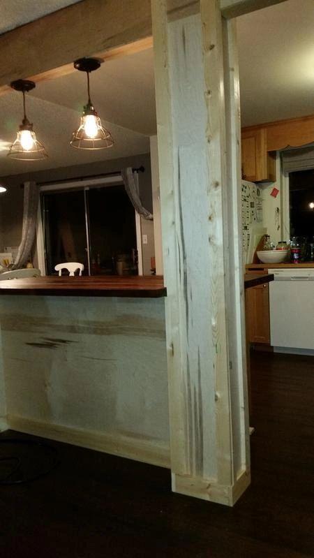 DIY Board & Batten Island Update