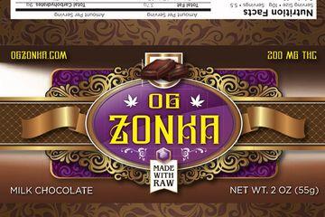 OG Zonka Milk Chocolate 200mg Bar