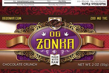 OG Zonka Milk Chocolate Hemp Crunch Bar 200mg