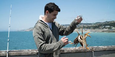 crabbing, fishing, pacifica, adventure, dungeness,
