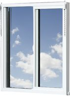 A complete vinyl window to replace your existing aluminum windows.