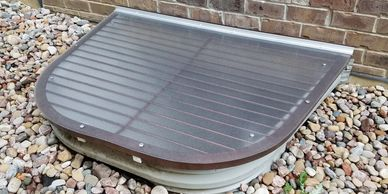 Already Have Window Well Grate? Consider Our Window Well Cover Overlay Solution.
