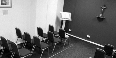 Our private Chapel in our Newport office
