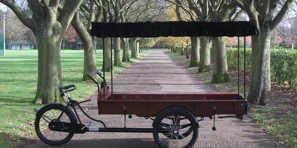 A Bicycle hearse