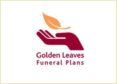 Golden Leaves pre paid funeral plan logo
