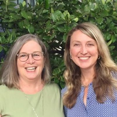 Kim Sherman (L) and Andrée Phelps (R)