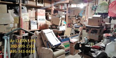 Basement Clean Outs Bellingham Basement Junk Removal Bellingham Basement Cleanup Bellingham, Blaine