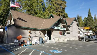 Shaver Lake Hardware, equipment and tool rentals.