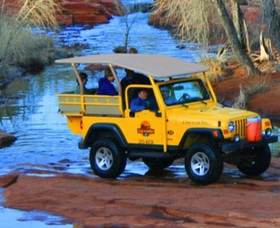Day in the WEst jeep tours sedona