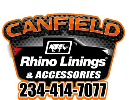 Canfield Rhino Linings & Accessories!  CALL 234-414-7077
