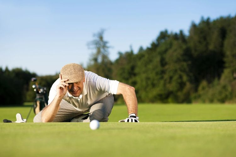 The golf course is easily accessible to the residence at Seal Beach Leisure World.