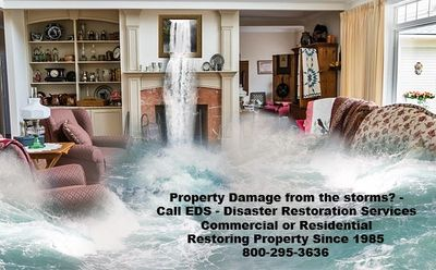 Water Damage  Property Restoration Disaster Flooding Storm water mitigation  emergency response