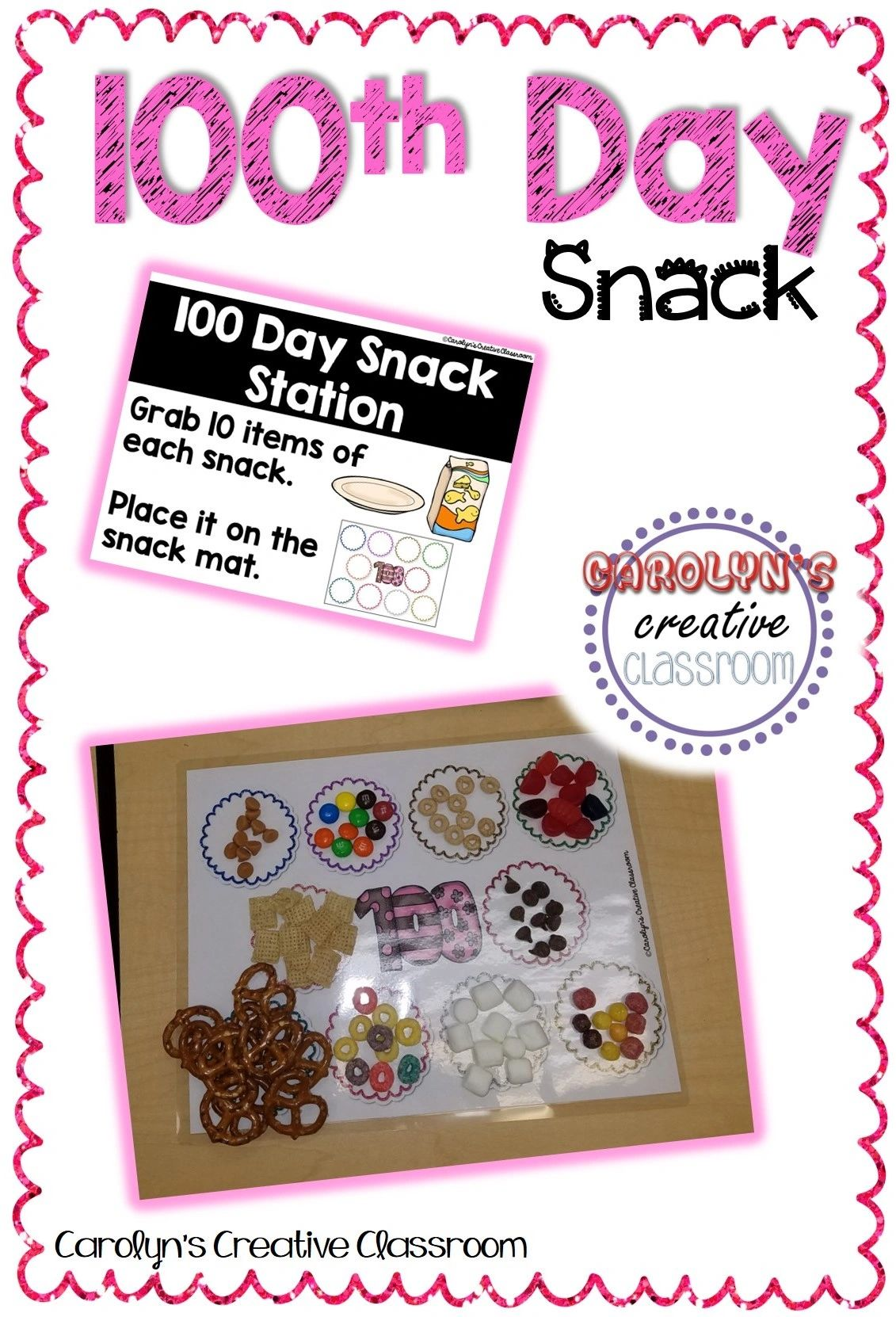 100th Day Snack Mat Www Imagenesmy Com