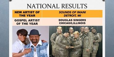 Sounds of Imani wins New Artist of the Year Award @ Texas Gospel Music Excellence Awards