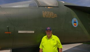 Jack Thomp Flew this F-111