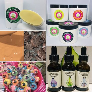 Cannabis Skincare Products