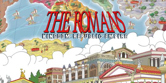 The Romans: Kingdom - Republic - Empire. Our latest game launching on KS mid Oct. 2018