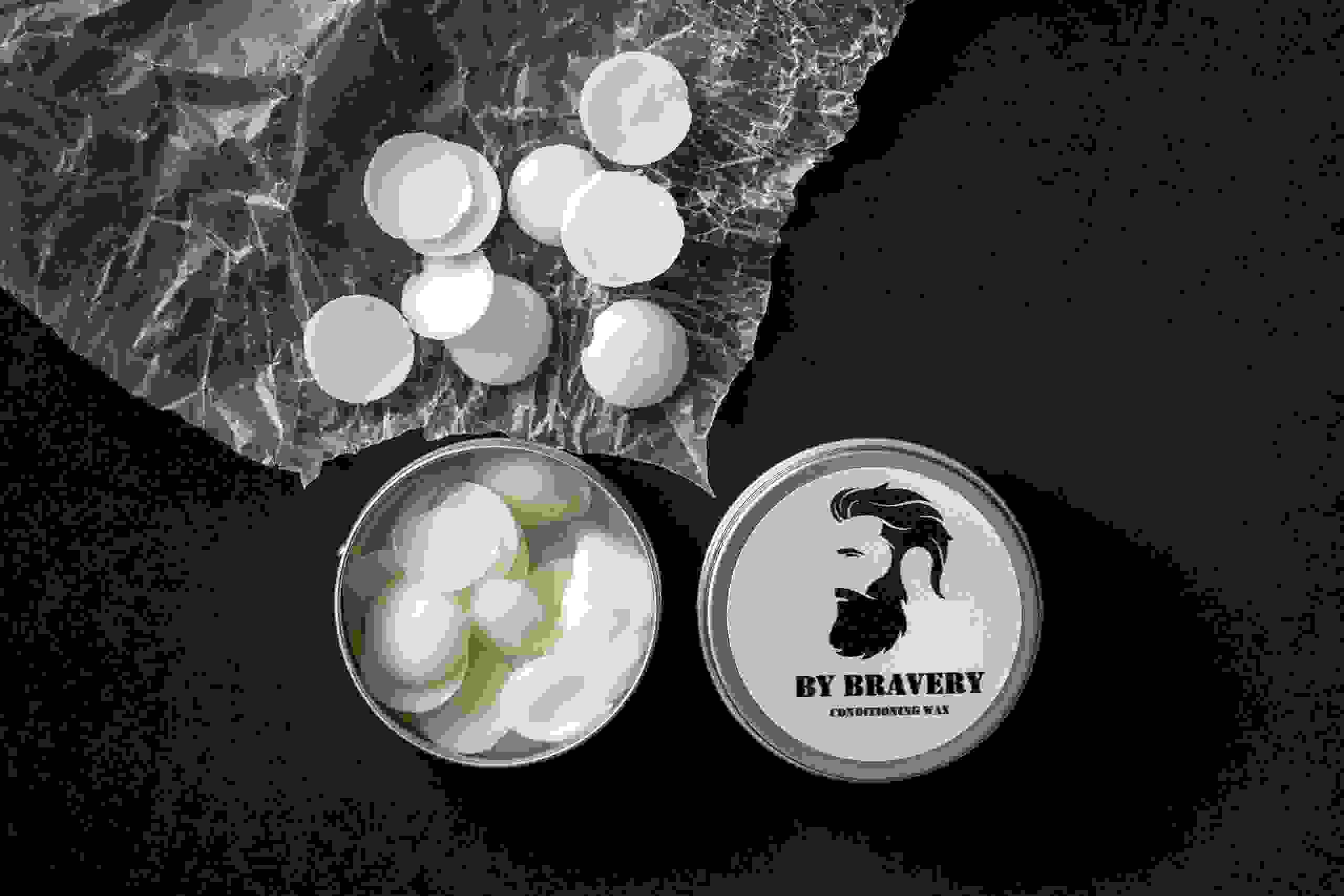 Beard oil, conditioning wax, beard