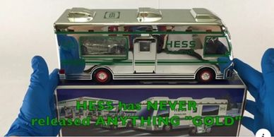 Hess Truck collecible