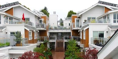 Image of a cohousing project in Vancouver