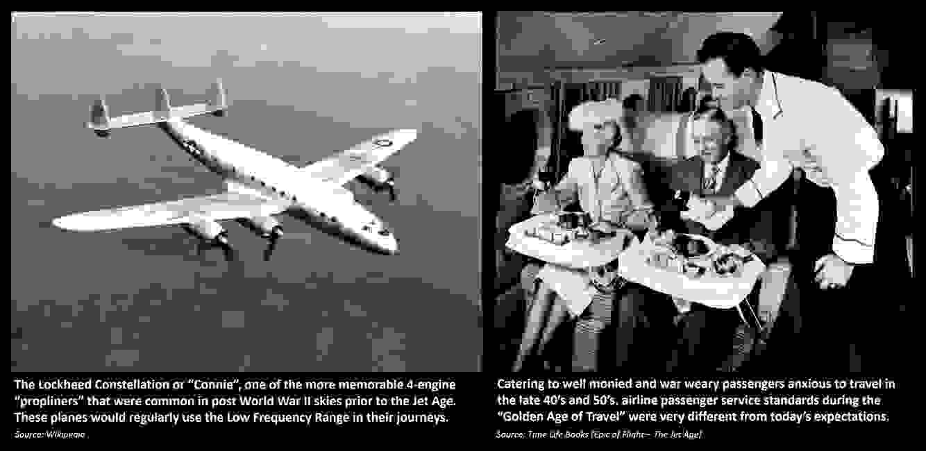Low Frequency Radio Range, Four Course Radio Range: Planes and Standards during the Golden Age