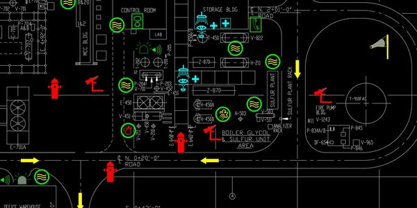 Emergency Layout plan, P&ID software