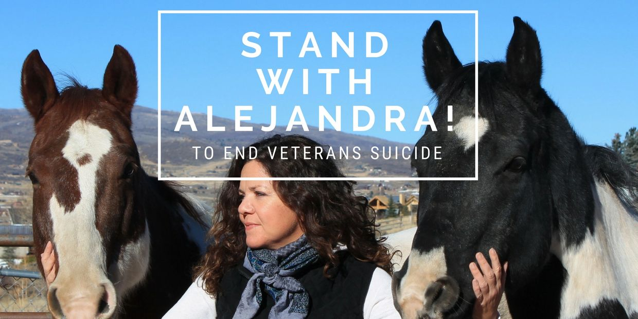 Stand with Alejandra! to end veterans suicide