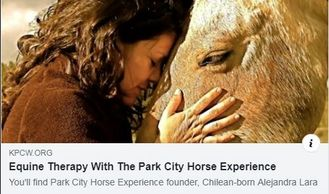 Equine Therapy with Park City Horse Experience