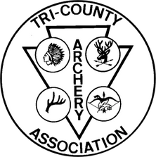 Tr-County Archery Association Logo 1979 - 1983