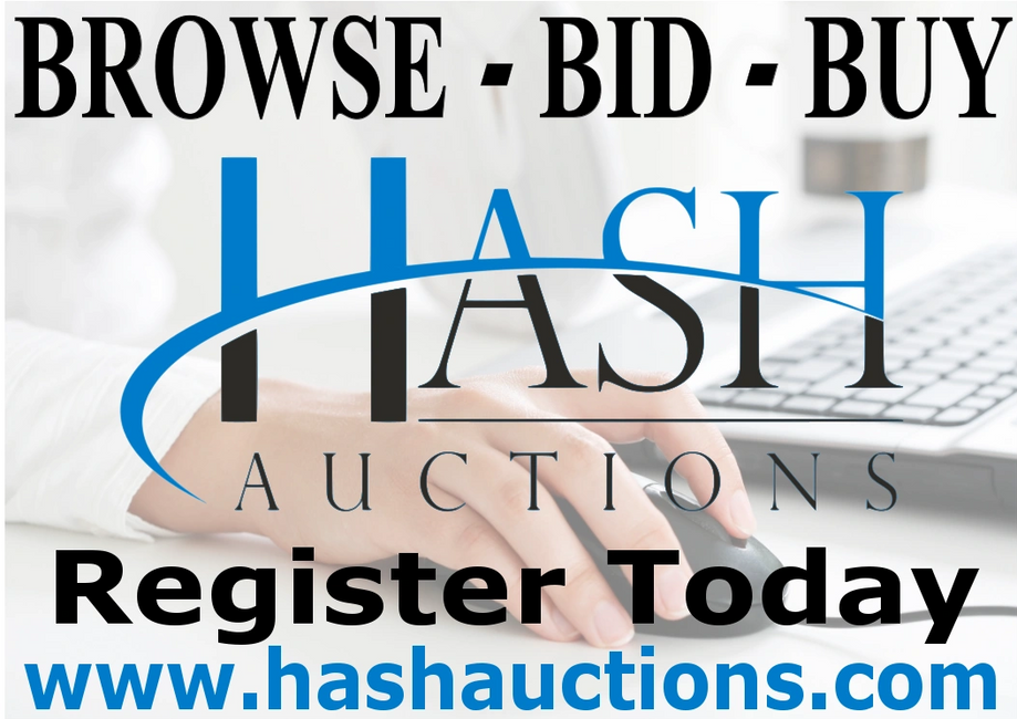 Hash Auctions Register today