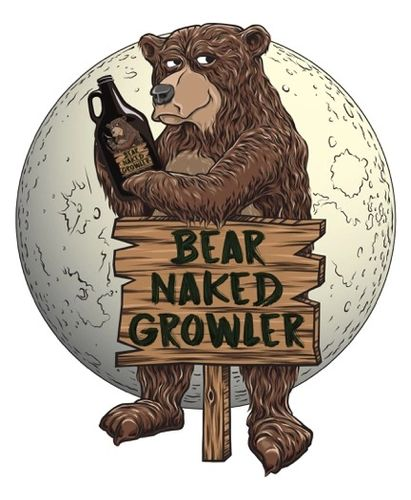 Bear Naked Growler - Bars and Pubs - Montpelier, Vermont