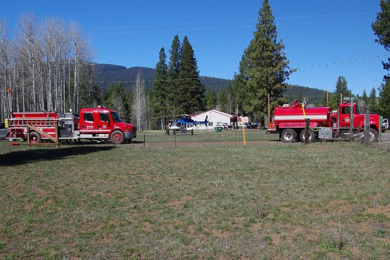 Rocky Point Fire & EMS with AirLink support serving our community and visitors