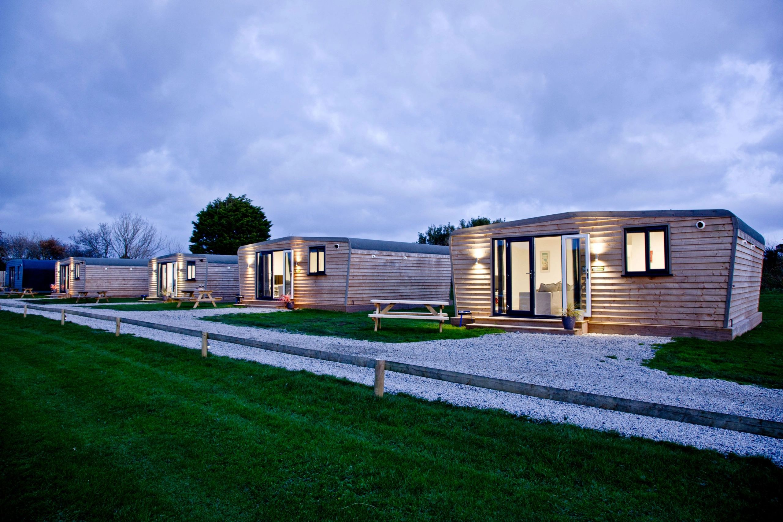 Cornwall lodges