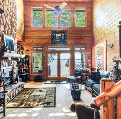 Estate moving sale on Torch Lake. Successful liquidation of this beautiful rustic home.