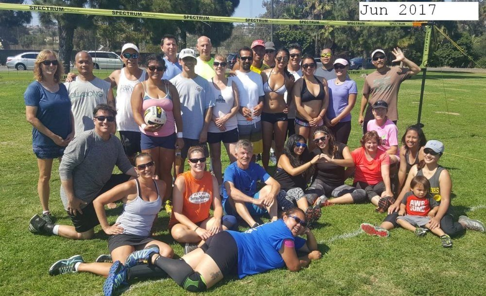 June 2017 Tournament for Missionbay Volleyball Club