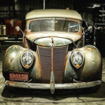 Rad Rod 37 Ford Phaeton,we are proud to own the Restomod that win the  SEMA in 2007