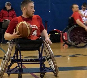 Sports wheelchairs make having fun possible.