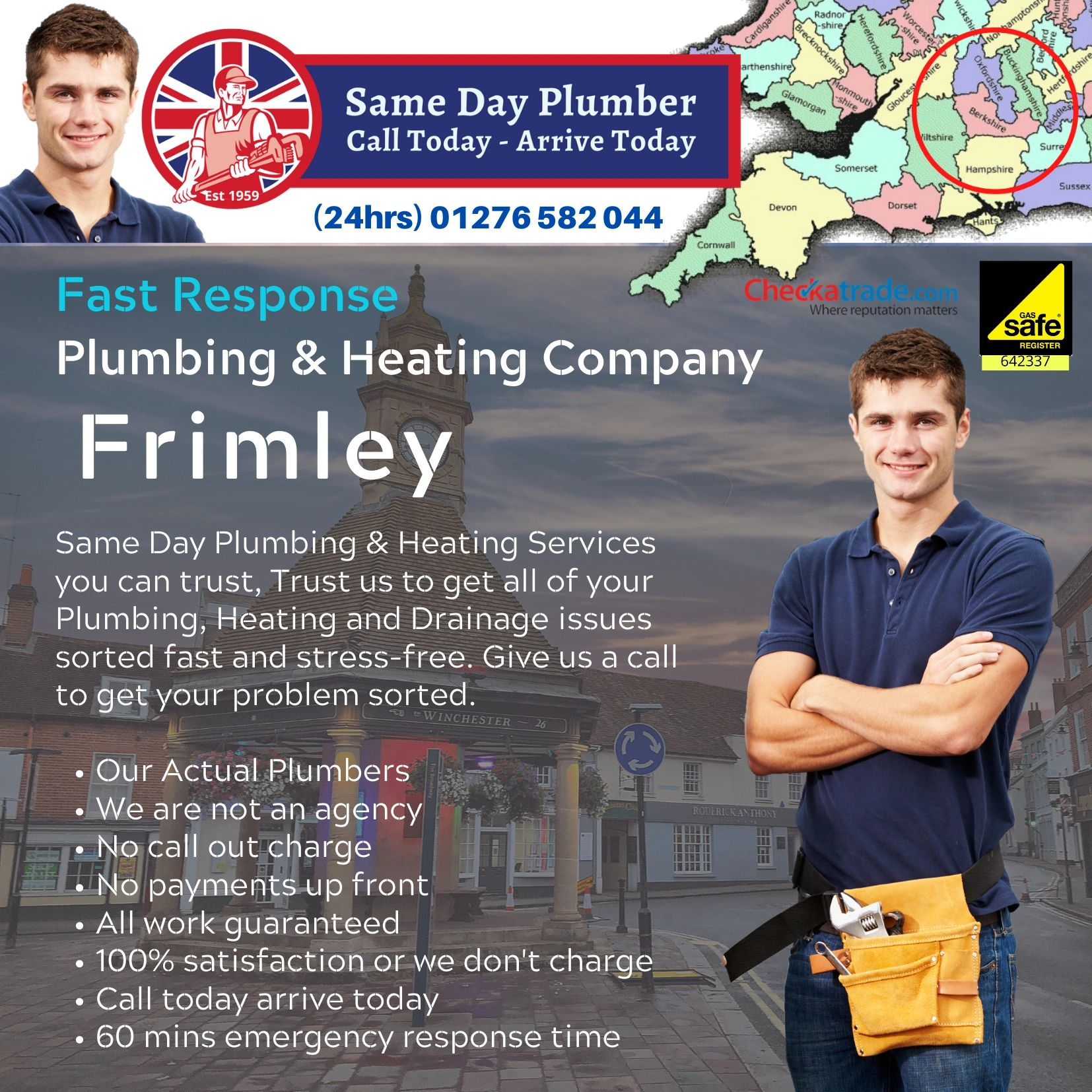 Plumbers in Frimley