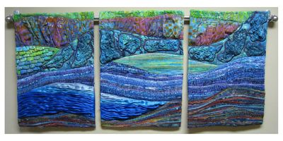 Water Triptych, 2009, in private collection