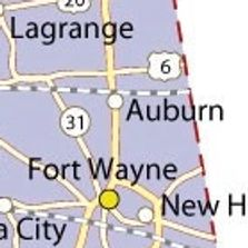 Map of Auburn