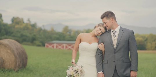 Rolling pastures and hay fields with gorgeous mountain views. Heather Fink Photography