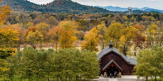 McGuire's Millrace Farm is your premier fall destination wedding venue.